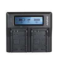 andoer lp-e17 dual channel digitale camera batterij oplader voor canon 750d / 760d rebel t6i / t6s eos m3 / m5 / m6 / 800d / 77d
