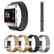 Недорогие Аксессуары для смарт-часов-Ремешок для часов для Fitbit ionic Fitbit Миланский ремешок Металл Повязка на запястье