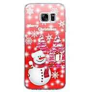 For Case Cover Pattern Back Cover Case Christmas Soft TPU for Samsung Galaxy S8 Plus S8 S7 edge S7 S6 edge plus S6 edge S6 S6 Active S5