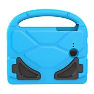Недорогие Чехлы и кейсы для Samsung Tab-Кейс для Назначение SSamsung Galaxy Tab 3 Lite Безопасно для детей Кейс на заднюю панель Сплошной цвет Твердый Этиленвинилацетат для Tab