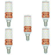 povoljno -BRELONG® 5pcs 12W 1000 lm E14 LED klipaste žarulje T 60 LED diode SMD 2835 Toplo bijelo Bijela Boja izvora dvostrukog svjetla AC 220-240V