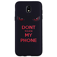 For Case Cover Pattern Back Cover Case Word / Phrase Soft Silicone for Samsung Galaxy J7 (2017) J5 (2016) J5 (2017) J3 J3 (2016) J3 (2017)