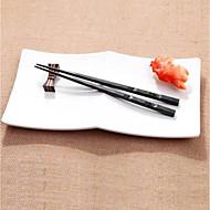 billige Køkkenredskaber-1 par japanske spisepinde legering skridsikre sushi chop sticks sæt kinesisk gave