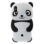 Carcasă Pro Apple iPhone X / iPhone 8 Plus Vzor Zadní kryt Panda Měkké Silikon pro iPhone X / iPhone 8 Plus / iPhone 7 Plus