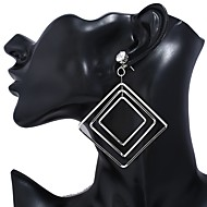 Women's Drop Earrings Hoop Earrings Classic Vintage Casual Fashion Oversized Alloy Geometric Jewelry For Bar Club
