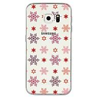 Недорогие Чехлы и кейсы для Galaxy S8 Plus-Кейс для Назначение SSamsung Galaxy S8 Plus / S8 С узором Кейс на заднюю панель Рождество Мягкий ТПУ для S8 Plus / S8 / S7 edge