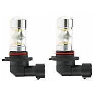 halpa -2pcs 9005 Auto Lamput 100W SMD 5050 3000lm LED-polttimot Sumuvalot