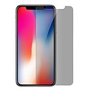 Недорогие Защитные плёнки для экрана iPhone-XIMALONG Защитная плёнка для экрана для Apple iPhone X Закаленное стекло 1 ед. Защитная пленка для экрана Взрывозащищенный / Защита от царапин / Anti-Spy