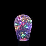 お買い得  LED ボール型電球-YWXLIGHT® 1W 100-200lm E27 LEDボール型電球 16 LEDビーズ 装飾用 RGB +ウォーム 85-265V