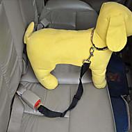 お買い得  ペット用品-犬 車内用ドッグリード / 犬用シートベルト 調整可能 / 引き込み式 / 安全用具 ソリッド ナイロン レッド / ブルー / ピンク