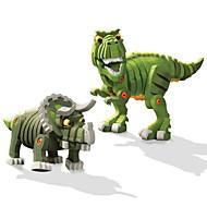 cheap Toys & Hobbies-Building Blocks Toys Dinosaur Animals DIY Children's 2 Pieces