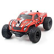 Auto RC K24-2 2.4G Truggy Alta velocità 4WD Drift Car Passeggino SUV Monster Truck Bigfoot 1:24 Elettrico con spazzola 45 KM / H