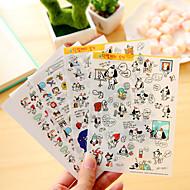 お買い得  ステッカー&テープ-4個/セット漫画犬日記ステッカー携帯電話ステッカースクラップブックステッカー