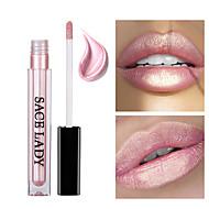 Lip Gloss Lipstick Shimmer Liquid Coloured gloss Pot gloss Moisture Waterproof 1