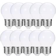お買い得  LED ボール型電球-EXUP® 10個 4W 400lm E27 LEDボール型電球 A15 10 LEDビーズ SMD 5730 LEDライト 温白色 クールホワイト 85-265V