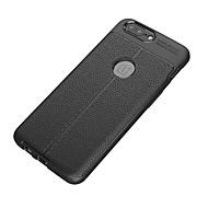 お買い得  携帯電話ケース-ケース 用途 OnePlus ワンプラス3 5 3 耐衝撃 つや消し バックカバー 純色 ソフト TPU のために One Plus 5 One Plus 3 One Plus 3T OnePlus