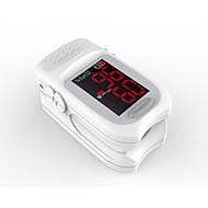 precisa fs10b led punta de dedo oxímetro de pulso oximetría sangre monitor de saturación de oxígeno color blanco