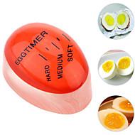 저렴한 -완벽 한 요리사 연약 하 고 열심히 삶은 계란 타이머 창조적 인 부엌 가제트에 대 한 1pc 색상 변경 계란 타이머