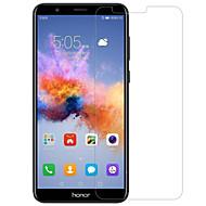 Protector de pantalla para Huawei Honor 7X Vidrio Templado 1 pieza Protector de Pantalla Frontal Alta definición (HD) Dureza 9H Borde