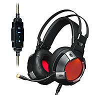 お買い得  -AJAZZ AX361 7.1 ヘアバンド ケーブル ヘッドホン 動的 ステンレス鋼 / プラスチック ゲーム イヤホン ボリュームコントロール付き / マイク付き / デュアルドライバ ヘッドセット