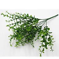 32cm 4 adet 49 ayrıl / kol okaliptüs yeşil çim ev dekorasyon yapay çiçekler