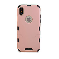 abordables Fundas para iPhone 8-Funda Para Apple iPhone X iPhone 8 Ultrafina Funda de Cuerpo Entero Color sólido Dura TPU para iPhone X iPhone 8 Plus iPhone 8 iPhone 7