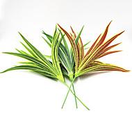 25cm 2 pcs 23 sair / ramificar var marginatum decoração de casa grama artificial