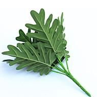 30cm 2 peças 9 cabeça / ramificação folha de taro decoração de casa grama artificial