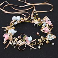 お買い得  -女性用 人造真珠 ラインストーン 人造真珠 ヘアバンド