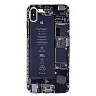 Кейс для Назначение Apple iPhone X iPhone 8 iPhone 7 iPhone 7 Plus iPhone 6 Ультратонкий С узором Задняя крышка Слова / выражения Мягкий