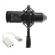 cheap Microphones-Characteristic BM800 Wired Microphone Sets Condenser Microphone Handheld Microphone For Computer Microphone