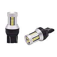 Недорогие Сигнальные огни для авто-2pcs Стационарный Лампы 15W SMD 4014 30 Лампа поворотного сигнала For Универсальный Универсальный Универсальный