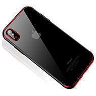 Недорогие Кейсы для iPhone 8 Plus-Кейс для Назначение Apple iPhone X / iPhone 8 / iPhone 8 Plus Полупрозрачный Кейс на заднюю панель Прозрачный Мягкий ТПУ для iPhone X /