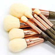 8 piezas Sistemas de cepillo Cepillo para Colorete Pincel para Sombra de Ojos Pincel para Labios Cepillo para Polvos Cepillo para Base