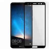 お買い得  スクリーンプロテクター-スクリーンプロテクター Huawei のために Mate 10 lite 強化ガラス 1枚 フルボディプロテクター 指紋防止 傷防止 防爆 硬度9H ハイディフィニション(HD)
