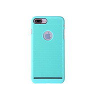 billige iPhone-etuier-Etui Til Apple iPhone 8 iPhone 8 Plus Ultratyndt Bagcover Helfarve Hårdt PC for iPhone 8 Plus iPhone 8 iPhone 7 Plus iPhone 7 iPhone 6