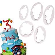billige -1set Plastik Bagning Værktøj Dagligdags Brug Cake Moulds Bageværktøj