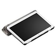 פו עור כיסוי מקרה עבור huawei mediapad m3 לייט 10 10.1 אינץ 'bah-w09 bah-al00 עם סרט מסך