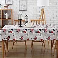 abordables Mantelería-Elegante Algodón / Poliéster Cuadrado Forros de Mesa Decoraciones de mesa