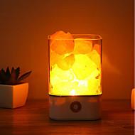 お買い得  LED アイデアライト-1個 LEDナイトライト タッチ7色 USBパワード 調光可能 タッチセンサ ベッドサイド USBポート付き 変色