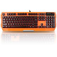 a4tech k152 kablolu membran klavye su geçirmez usb 104 tuşları