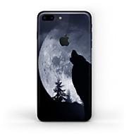 Недорогие Защитные плёнки для экрана iPhone-1 ед. Наклейки для Защита от царапин Черный и белый Узор Матовое стекло PVC iPhone 7 Plus