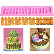 billige -1pc silica Gel Bagning Værktøj Dagligdags Brug Rektangulær Cake Moulds Bageværktøj