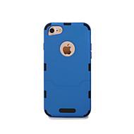 Недорогие Кейсы для iPhone 8-Кейс для Назначение Apple iPhone 6 iPhone 7 Ультратонкий Чехол Сплошной цвет Твердый ТПУ для iPhone 8 Pluss iPhone 8