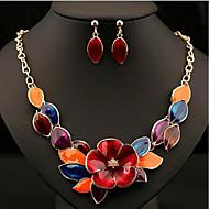 povoljno -Žene Komplet nakita , Moda Party Dnevno Legura Cvijet 1 Ogrlica Füllbevalók