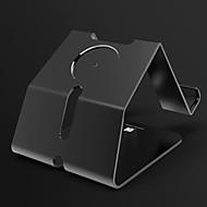애플 시계 시리즈를위한 paifan 시계 스탠드 1 2 ipad 아이폰 7 6 6s 플러스 5s 5 5c 4 금속 스탠드 올인원 1 38mm / 42mm 케이블 포함되지 않음