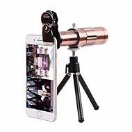 billige Linser til mobiltelefoner-Mobiltelefon linser Objektiv med lang brændvidde Aluminiumlegering 20X makro 20mm 5m 75 Høj definition