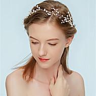 お買い得  -女性用 クラシック 人造真珠 ヘアバンド