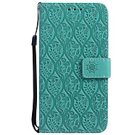 cheap -Case For Samsung Galaxy J7 (2017) / J5 (2017) Wallet / Card Holder / with Stand Full Body Cases Solid Colored Hard PU Leather for J7 Prime / J7 (2017) / J7 (2016)