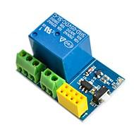 お買い得  Arduino 用アクセサリー-esp8266 esp-01sリレーモジュールリレーwifiスマートソケット